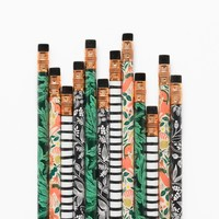 Folk Assorted Writing Pencils by RIFLE PAPER Co. | Imported