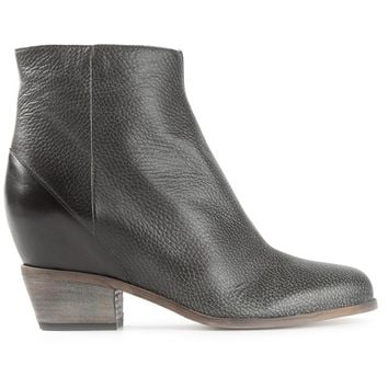 MM6 By Maison Martin Margiela contrast ankle boots
