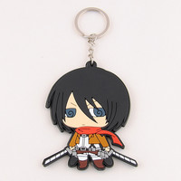 Attack On Titan Mikasa Key Ring