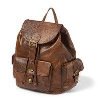 Faux Leather Backpack  | Claire's