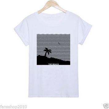 The Beach The Neighbourhood Album House Wiped Out 2015 White TShirt Size S to XL