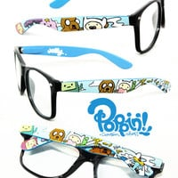 Custom Painted Adventure Time Rayban Glasses