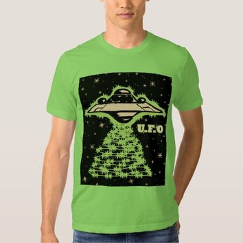 U.F.O? In Space T Shirt