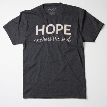 Hope Anchors The Soul - Tee