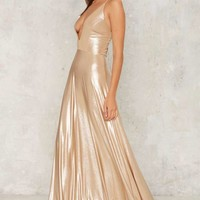 Slick and Slide Maxi Dress