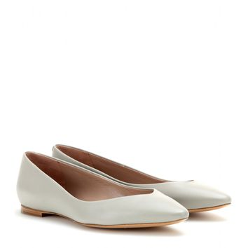 chloé - beckie leather ballerinas