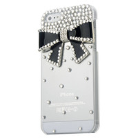Crystal Bow Iphone 5 Case in 2 Colors