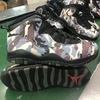 Air Jordan 10 Retro Camo Men Sneaker  - Best Deal Online
