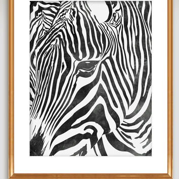 60% OFF SALE African Zebra Art Wall Decor,Zebra Print, Africa, Wall hanging, Home Decor,Zebra Art,For him,Zebra Art Print