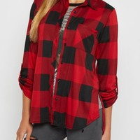 Red Buffalo Check Pocket Shirt | Plaids & Flannels | rue21