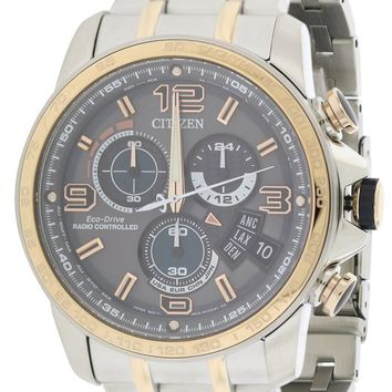 Citizen Chrono Time AT Stainless Steel Watch BY0106-55H