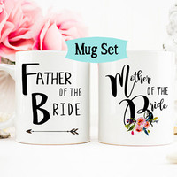 Mother of the Bride Gift, Father of the Bride Mug, Mother of the Bride Mug, Bridesmaid Mug, Bridesmaid Proposal Mugs, Mug Set