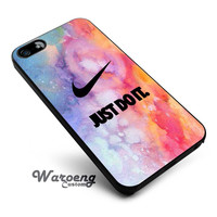 Nike just do it art pattern iPhone 4s iphone 5 iphone 5s iphone 6 case, Samsung s3 samsung s4 samsung s5 note 3 note 4 case, iPod 4 5 Case