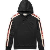 Gucci - Oversized Taped Jersey Hoodie