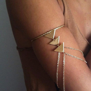 Bermuda Armlet by indigovenus on Etsy