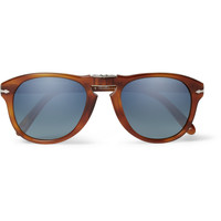 Persol - Steve McQueen Folding Acetate Polarised Sunglasses | MR PORTER