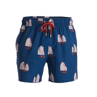 Mazu Swimwear Junk High Tide Navy