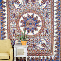 Paisley Medallion Tapestry
