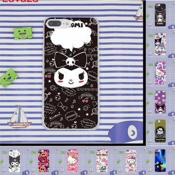 Lavaza kuromi Hello Kitty Hard Phone Case for iPhone 6 6s 7 8 Plus 4 4S 5 5S SE for iPhone XS Max XR Shell Cases