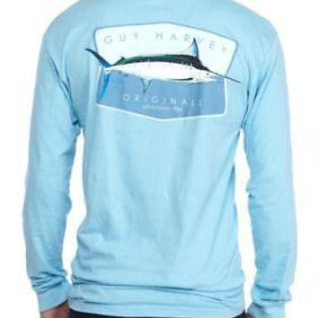 Guy Harvey Long Sleeve Men's Reflecto Graphic T-Shirt - 2XL/XL/Lg/Md  NWT