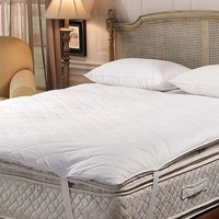 Deluxe 10/90 Quilted Pillow Top Feather Bed