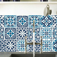 Tile decals Stickers - Tile Decals - Tile decals for Kitchen Bathroom - PACK OF 20 - Mexico, Morocco, Portugal, Spain, Mosaic #21 3M quality - Edit Listing - Etsy