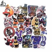 22Pcs/lot  At Freddy Decal Sticker For Car Laptop Bicycle Notebook Backpack Waterproof Stickers Toy Stickers gifts