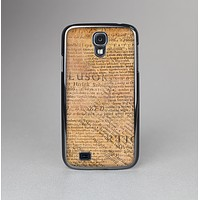 The Historical Word Overlay Skin-Sert Case for the Samsung Galaxy S4