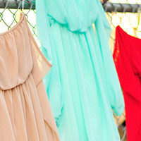 Happily Ever After Dress: Mint | Hope's