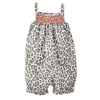 Carter's Leopard Romper - Baby Girl, Size: