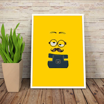 Minions Despicable Me, (Instant Download) , 300 dpi, Awesome Design Printing