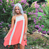 Take a Chance Crochet Dress