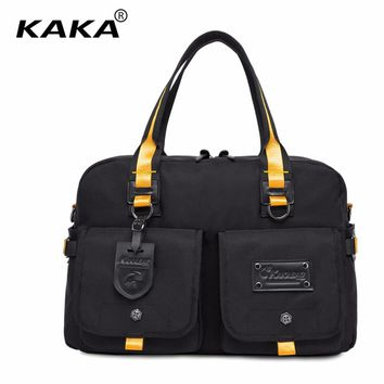 2017 New Brand Design Unisex Man and Women Luggage Travel Bags Large Capacity Waterproof Handbag Messenger Shoulder Bags Totes