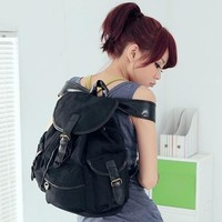 Womens Girls Canvas Fashion Shoulder Bags Backpacks Various School Book Rucksack