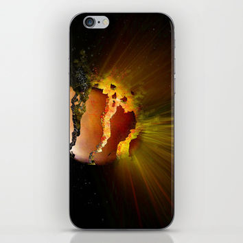Eclipse of the Heart iPhone & iPod Skin by Kay Evison
