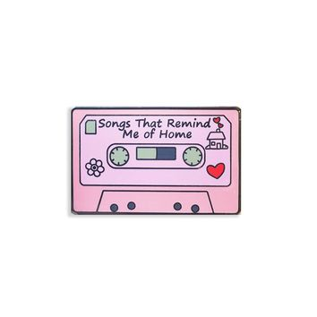 Songs That Remind Me Pin