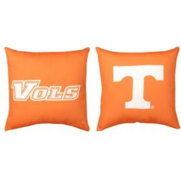 """Manual Weavers NCAA University of Tennessee Vols Indoor/Outdoor Patio Throw Pillow 20"""" x 20"""" Decorative Pillows"""