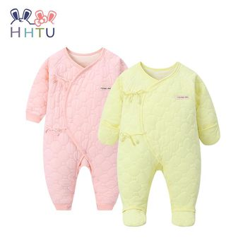 HHTU 2017 New Arrival Baby Rompers Quilted Cotton Infant Jumpsuit Newborn Baby Clothes Baby Clothing for Autumn/Winter