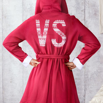 Sherpa Hooded Robe - Victoria's Secret