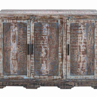 """Benzara Long Lasting and Durable 36"""" Wooden Cabinet with Sleek Profile"""