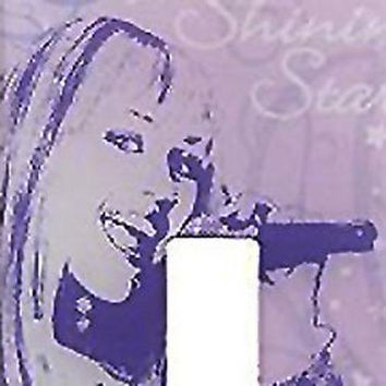 Disney Hannah Montana Lightswitch Plate Sticker Decal
