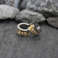 Mens Earrings, Small Hoop Earrings, Gold Mens Earrings, Silver Guys Earrings, Earrings for Men, Earrings for Guy, Huggie Earrings