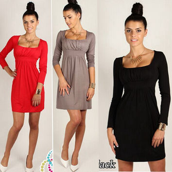 New Fashion Summer Sexy Women Dress Casual Dress for Party and Date = 4725346500