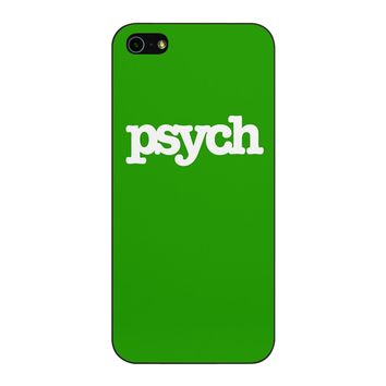 Psych iPhone 5/5S/SE Case