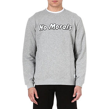 A QUESTION OF - No morals sweatshirt | Selfridges.com