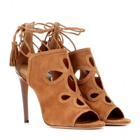 Get Me Everywhere suede sandals
