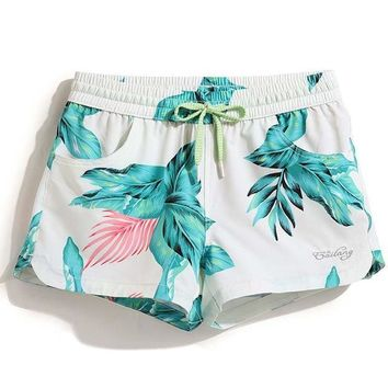 Ladies summer boardshorts beach surf shorts bermudas swimsuits women loose bathing suit plavk sweat board short sexy run
