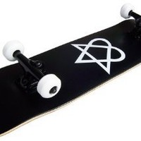 PRO Skateboard Complete Pre-Built HEARTAGRAM 7.75""
