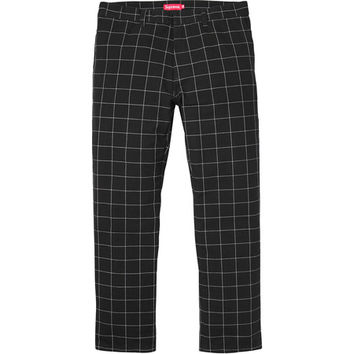 Supreme: Work Pant - Windowpane