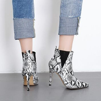 THE SNAKE SENSATION ANKLE BOOTIE